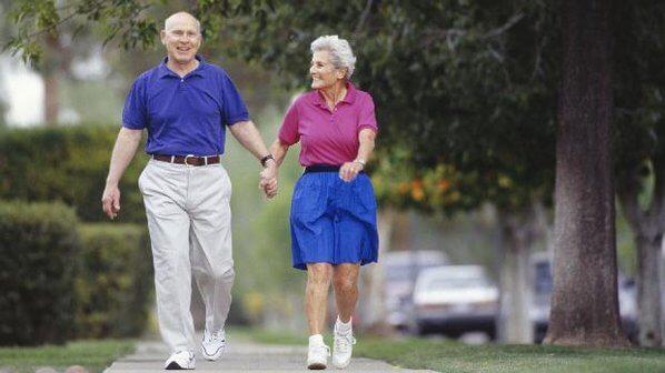 Caminhar diariamente reduz risco de morte