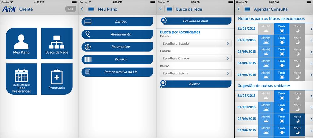 aplicativos de planos de saúde