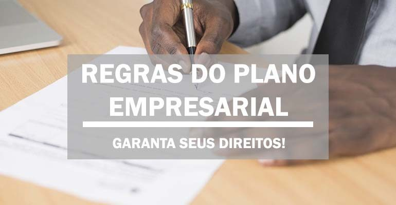 REGRAS DO PLANO EMPRESARIAL CAPA