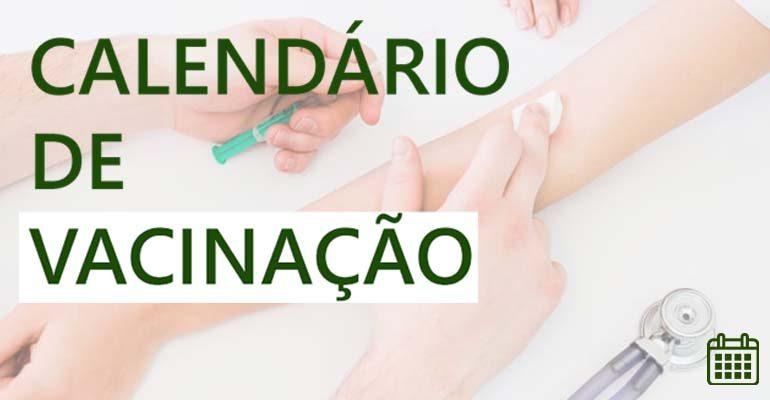CALENDÁRIO DE VACINAÇÃO CAPA