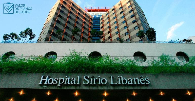 Fachada do Hospital Sïrio Libanês - Hospitais em São Paulo